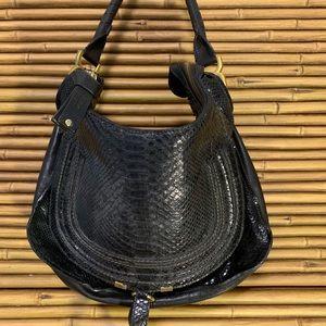 Chloé Marcie Python bag